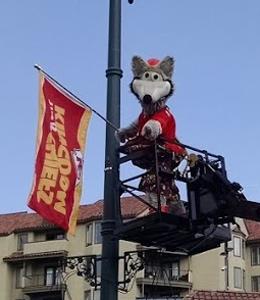 KC Wolf Banner
